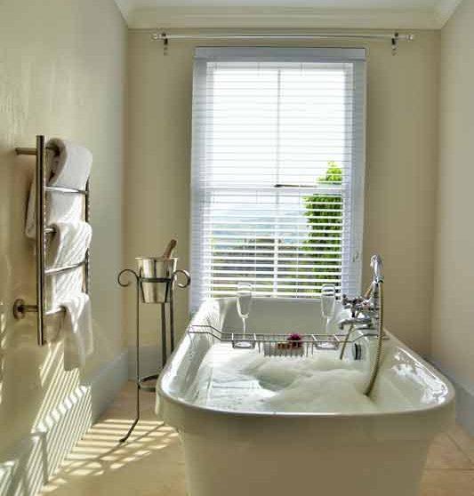 Sa baignoire en Afrique du Sud