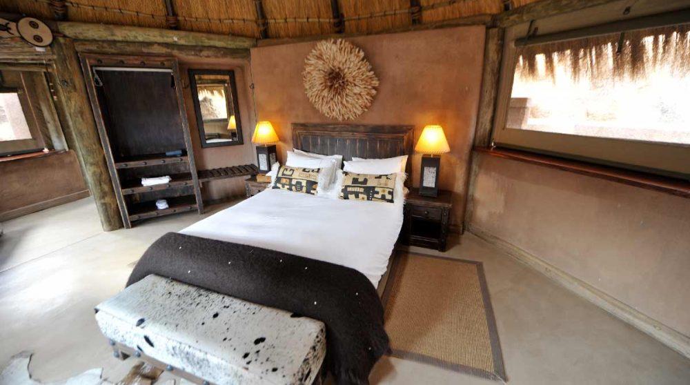 Le lit dans le Damaraland