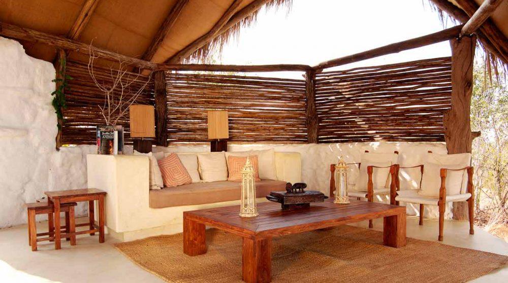 Salon de l'hôtel en Tanzanie
