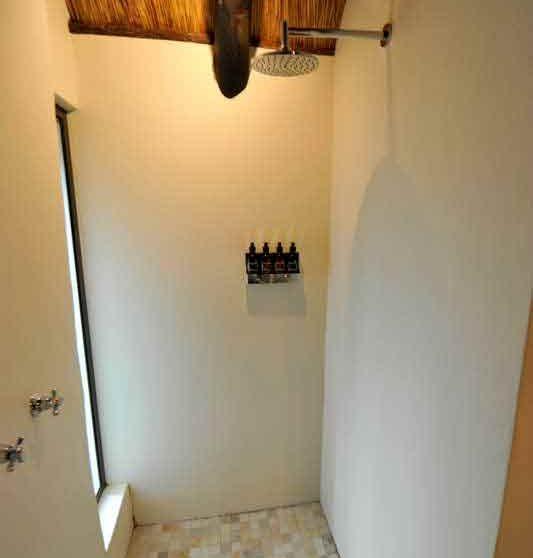 La douche en Afrique du Sud