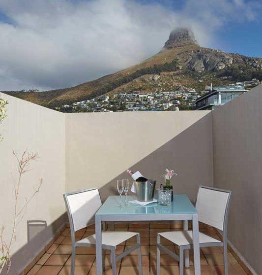 La terrasse à Cape Town