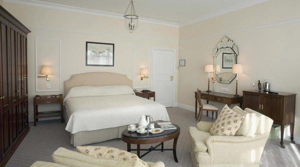 Chambre deluxe suite avec lit double au Cap