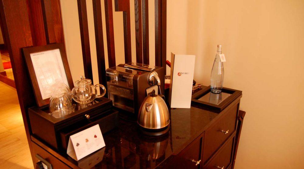 Thés et cafés dans une chambre au Cap
