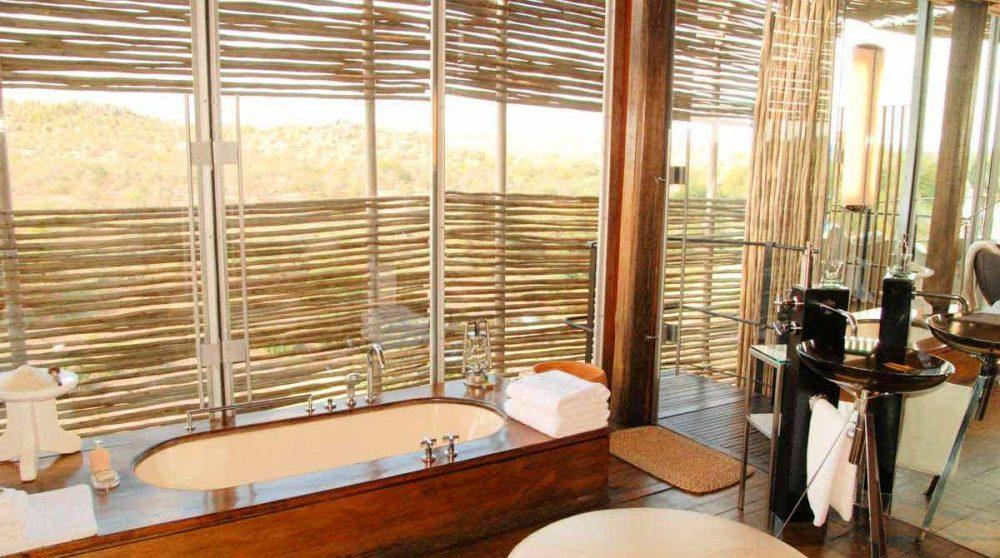 La baignoire au parc Kruger