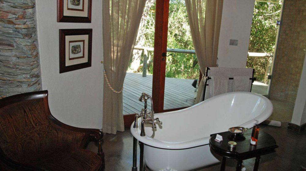 Autre vue de la salle de bains en Afrique du Sud