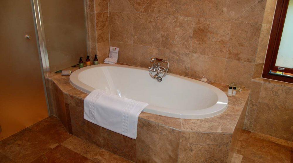 La baignoire d'une suite