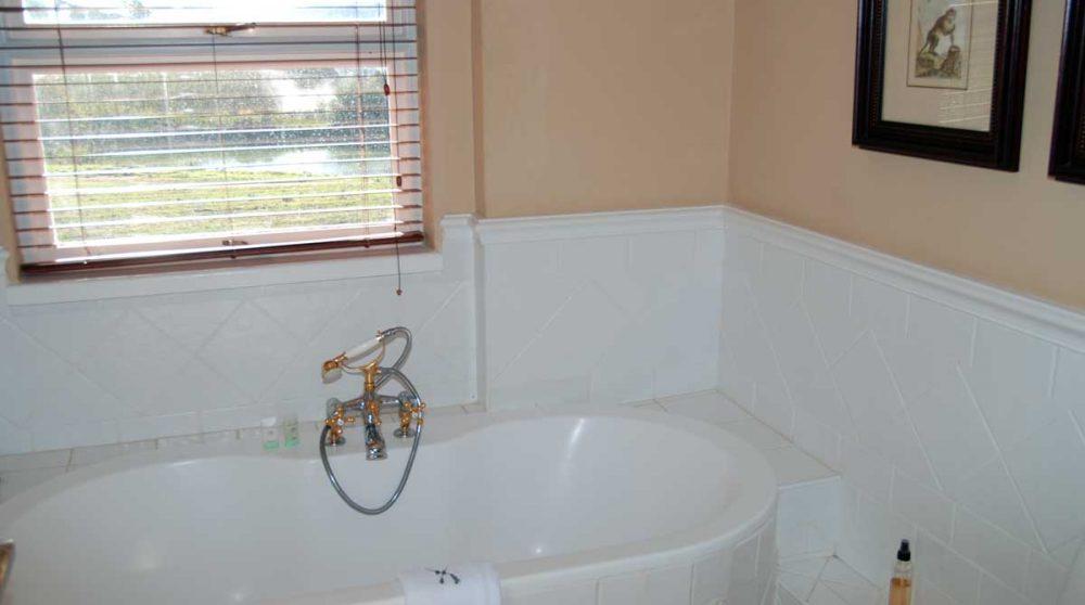 La salle de bains d'une chambre standard