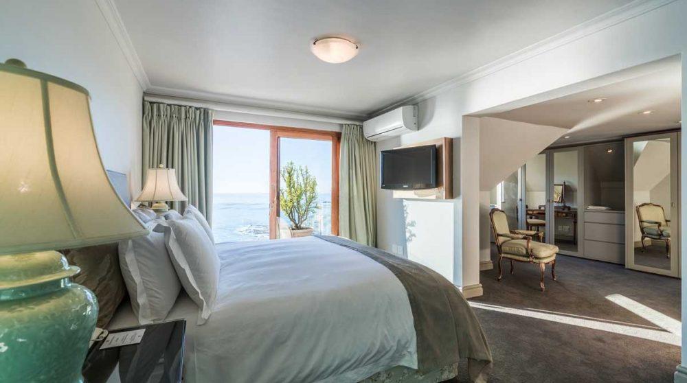 La chambre d'une Suite à Cape Town