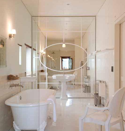 Sa salle de bains à Cape Town