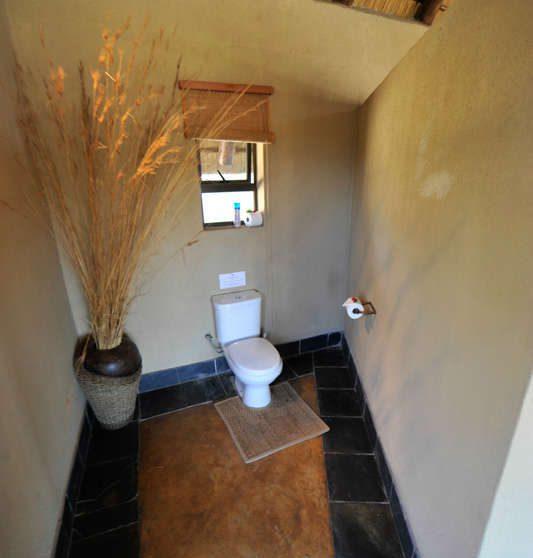 Les toilettes à Sabi Sand