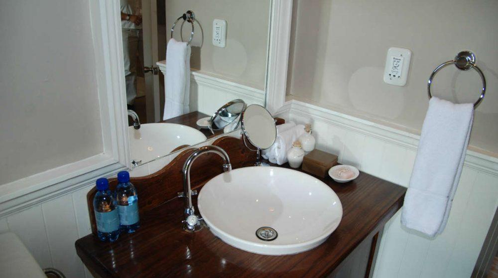 Le lavabo en Afrique du Sud