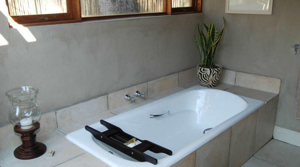 Une baignoire à Sabi Sand