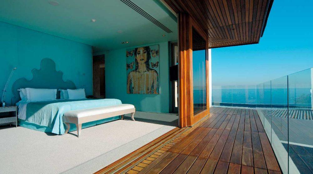 Une chambre de la Villa