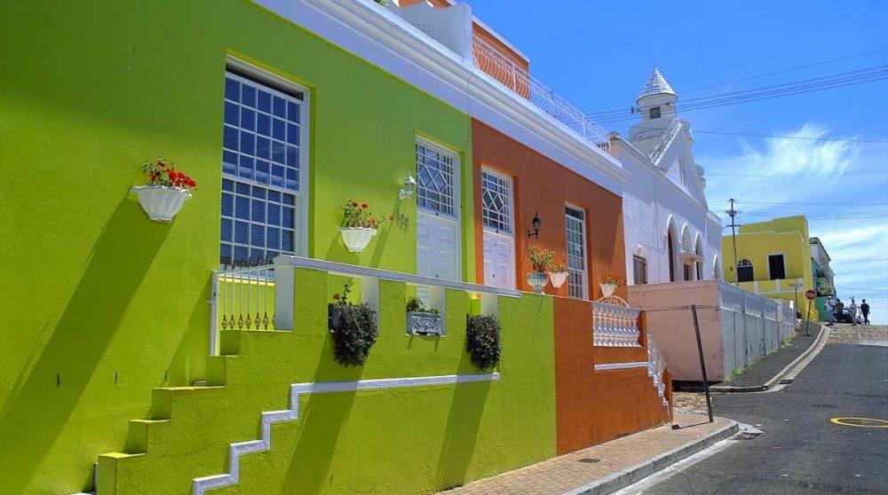 Les maisons de Cape Town
