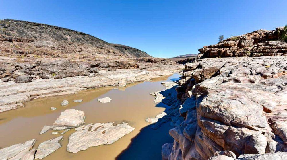Une vue sur le Fish River Canyon