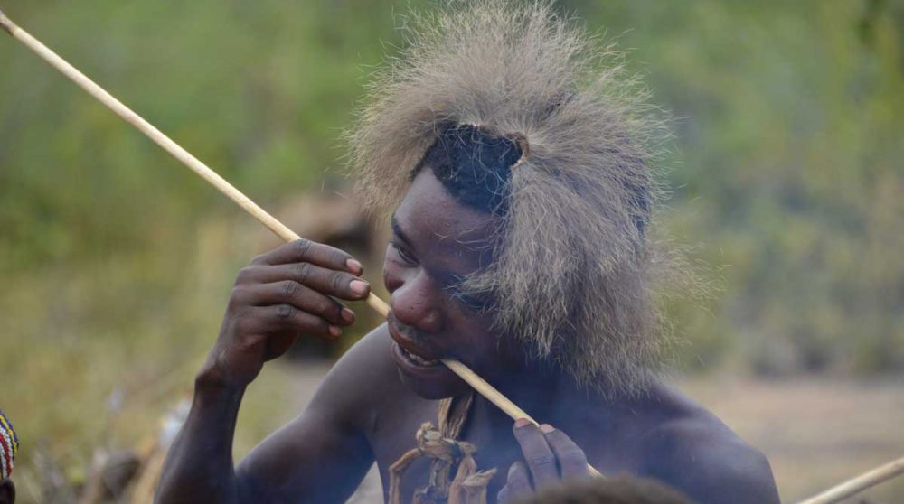 Le peuple Hadza en Tanzanie