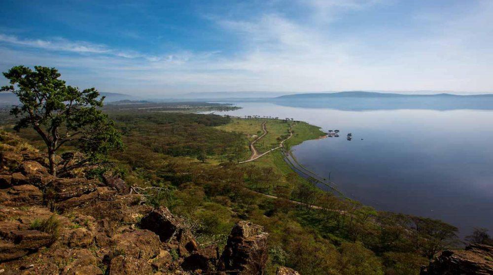 Une étape au Lac Nakuru