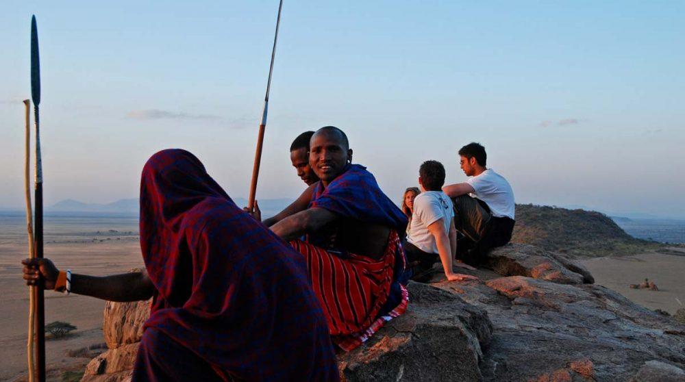 Profitez d'une rencontre avec les Massai