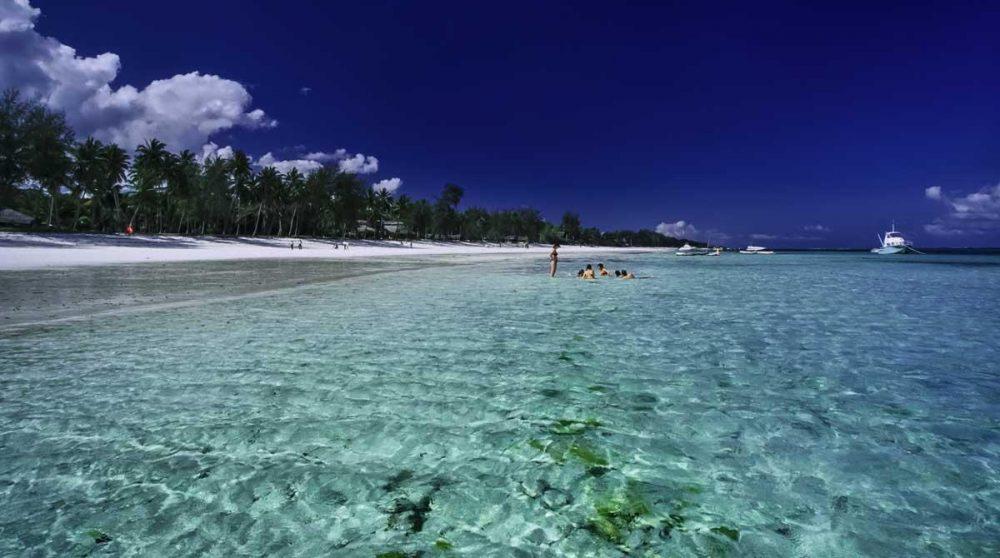 Une extension sur les plages de Mombasa