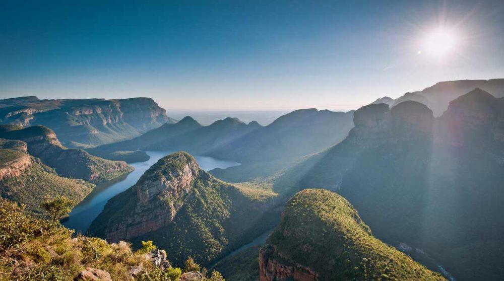 Le canyon de la Blyde River dans le Mpumalanga