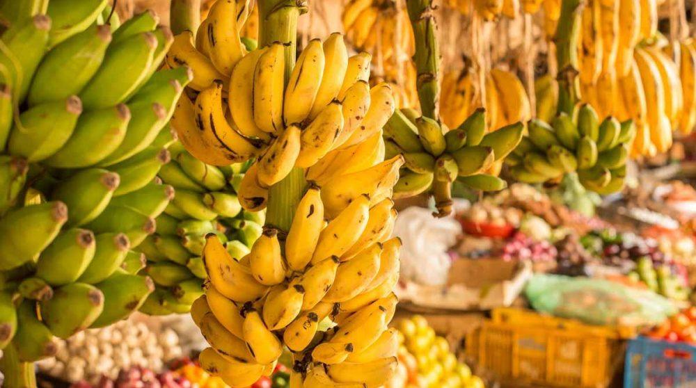 Un marché dans une rue de la capitale kenyane, Nairobi