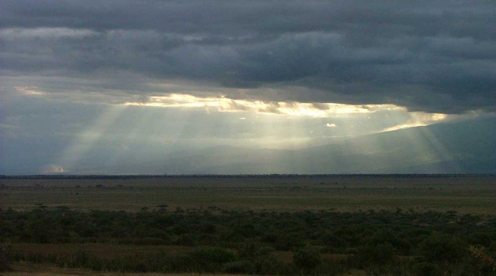 Un paysage en Tanzanie
