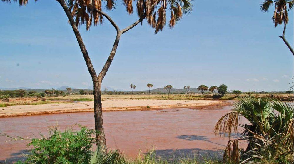 Une vue de Samburu