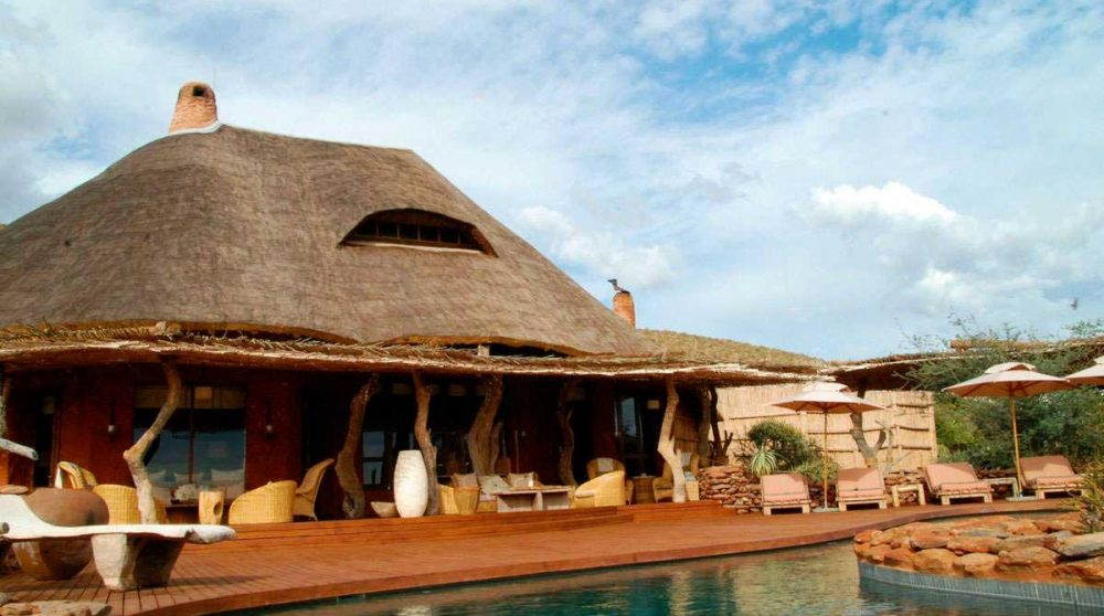 Le lodge de Tswalu
