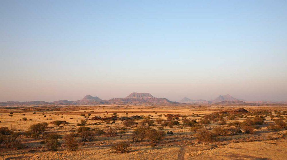 Une vue sur le Damaraland