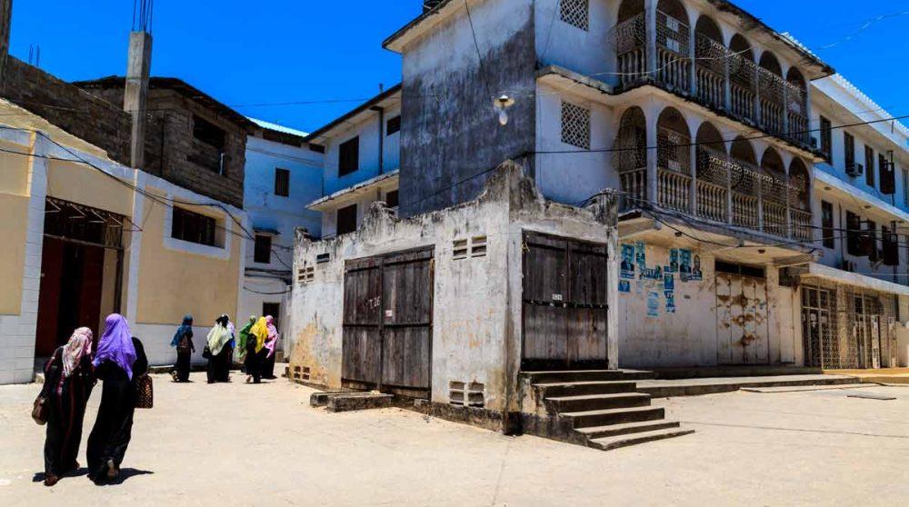 La ville de Zanzibar