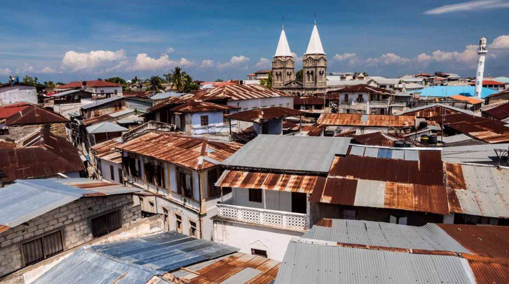 La cathédrale Saint Joseph de Zanzibar en Tanzanie